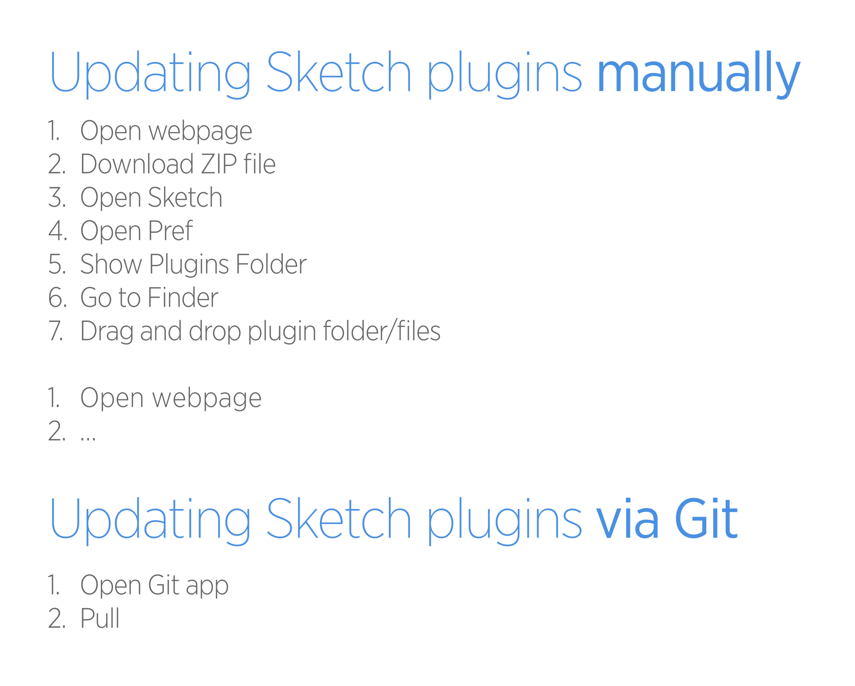Update Your Sketch Plugins Almost Automatically By Andree Blended Io Ux Collective