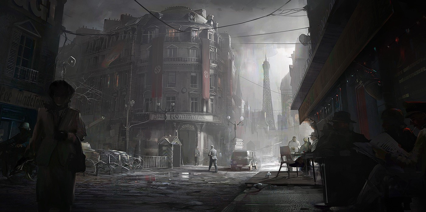 Watch Dogs Splinter Cell Assassin S Creed Concept Artist Nacho