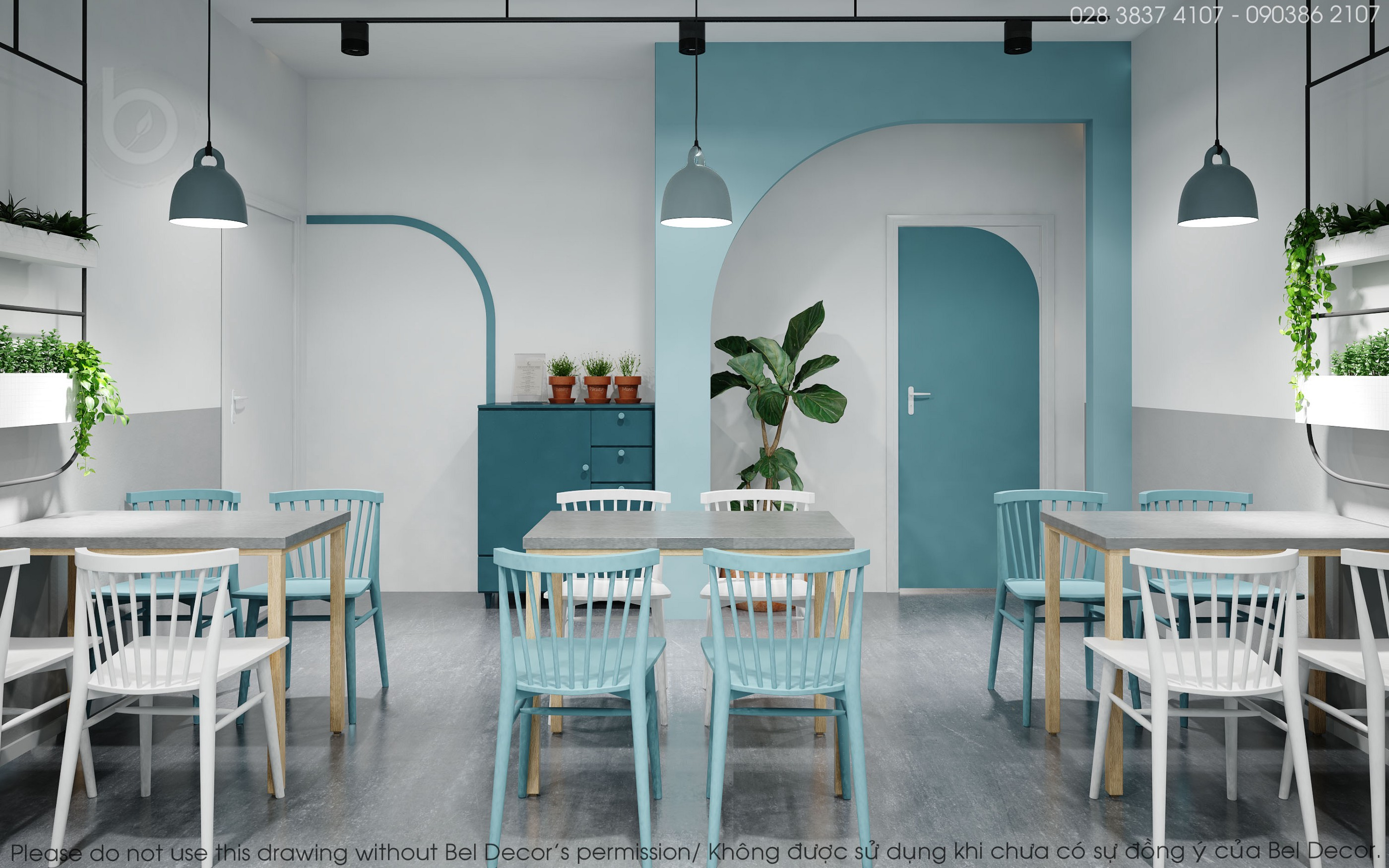 The Space Of Milk Tea Made Young People Fascinated By Bel Decor Medium