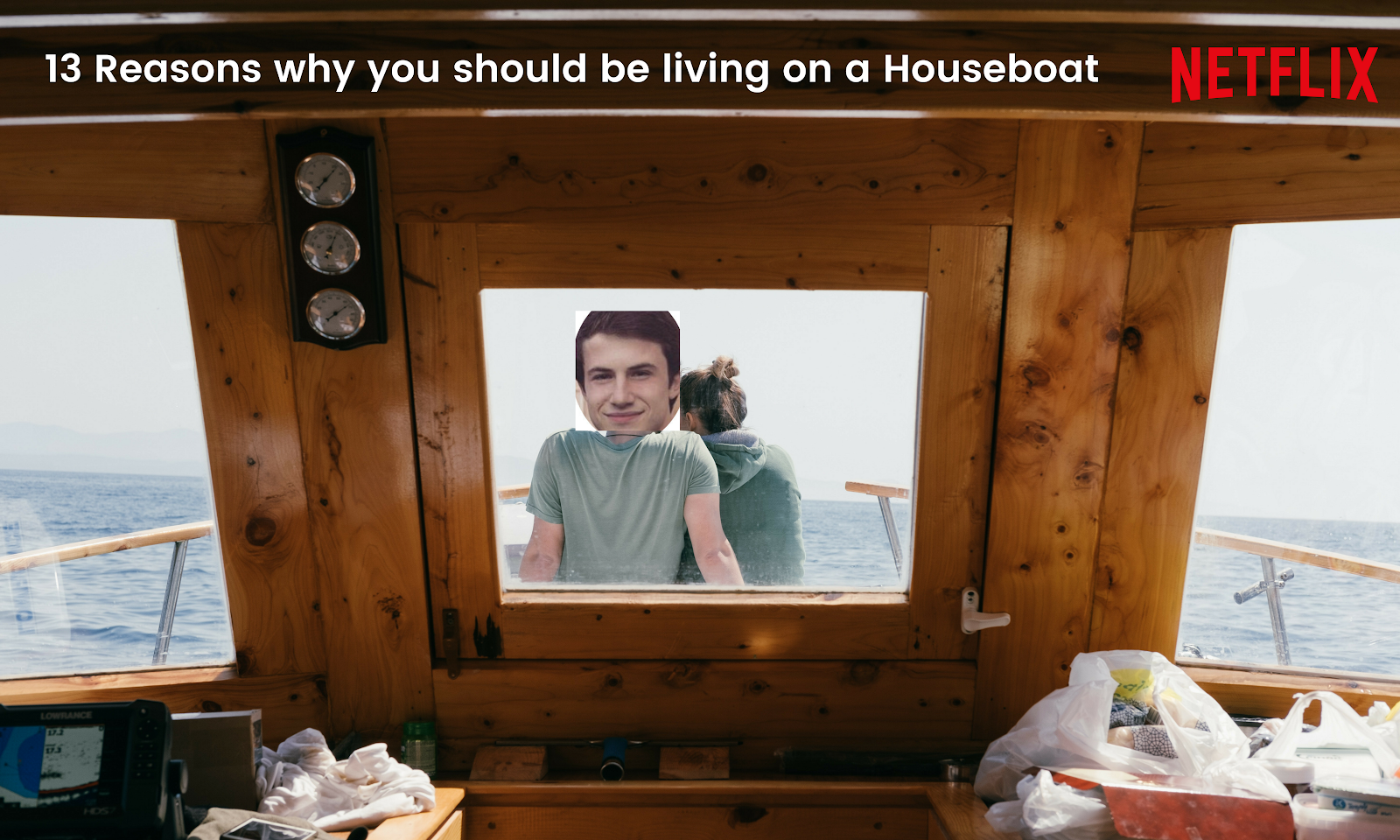13 Reasons Why You Should Be Living on a Houseboat!