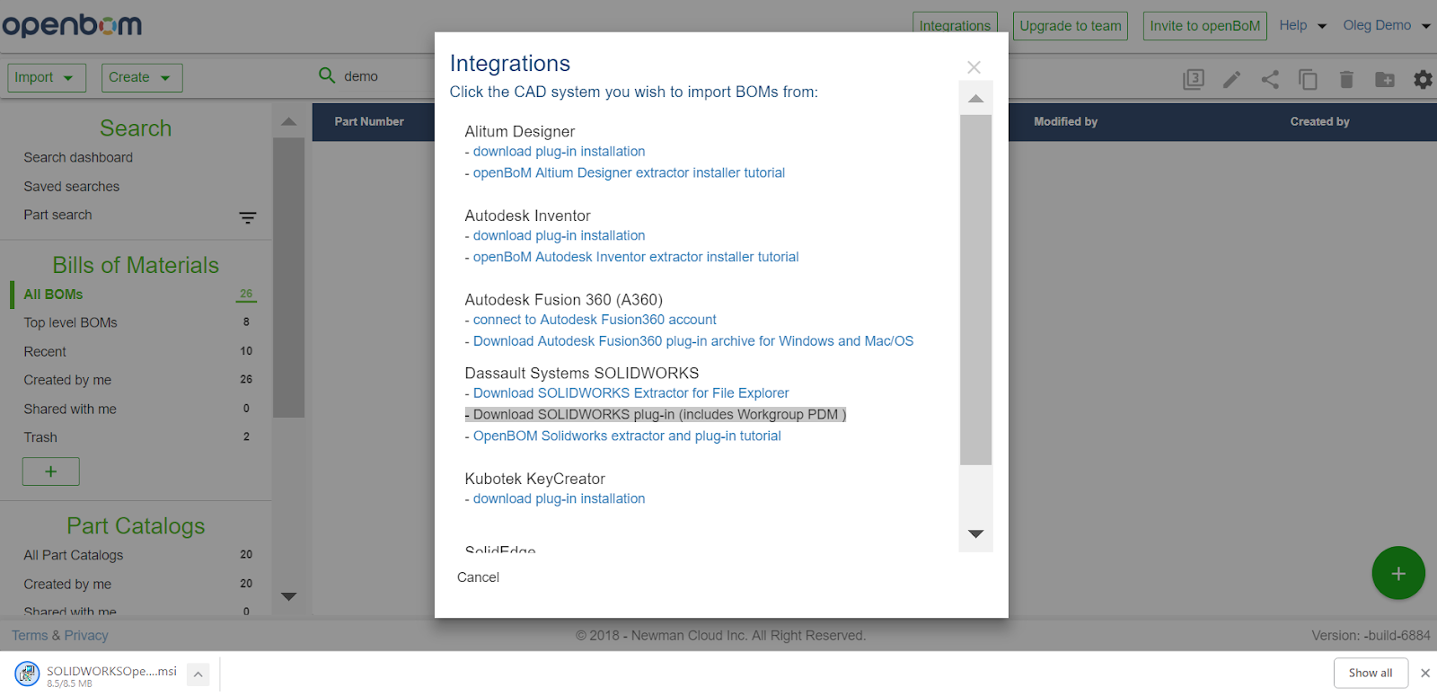 10 steps in 5 minutes — How to get started with OpenBOM and