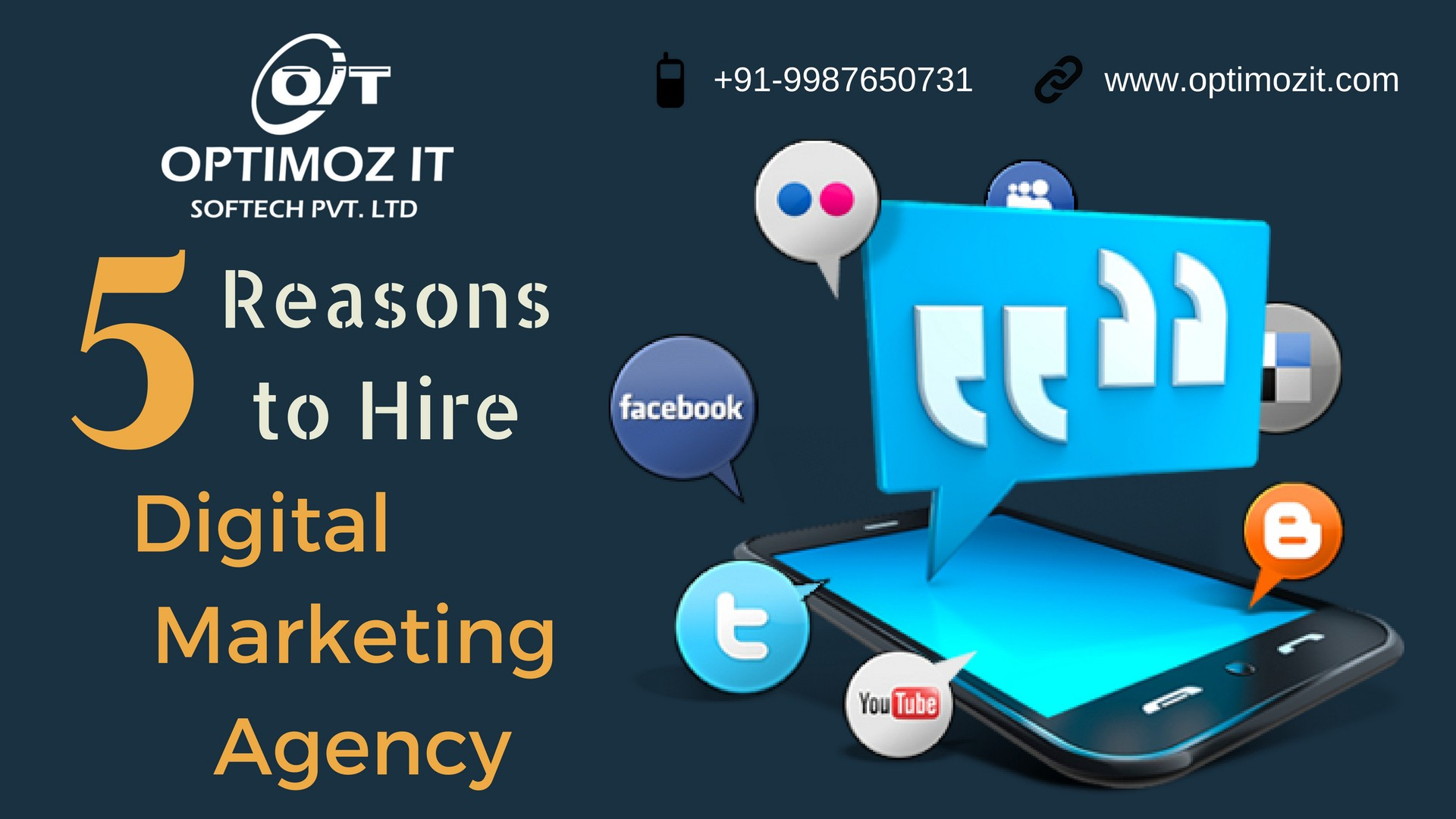 5 Reasons to Hire Digital Marketing Agency - Optimoz IT - Medium