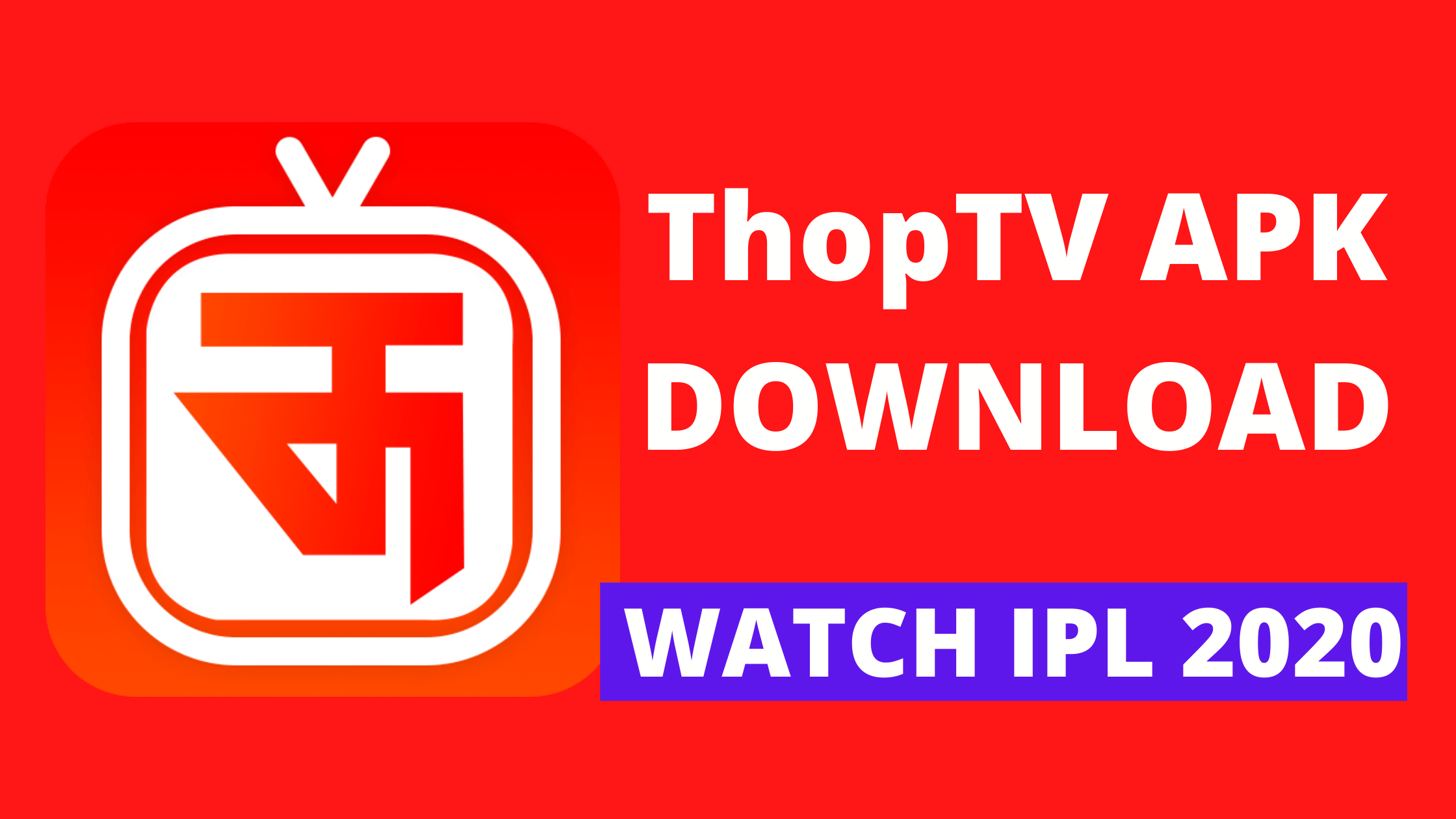 Thoptv V38 0 Apk Free Download Stream Ipl 2020 For Free By Manish Saxena Sep 2020 Medium