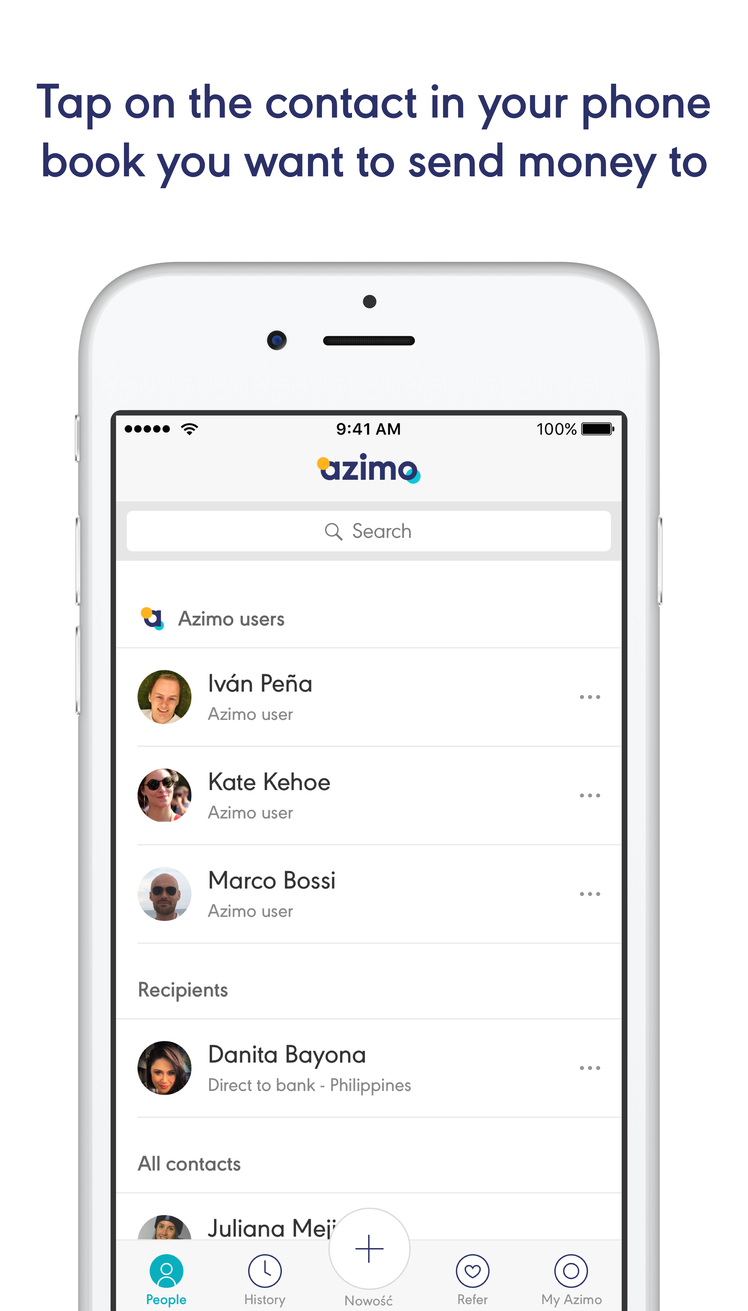 Send Money Via Azimo With A Simple Sms