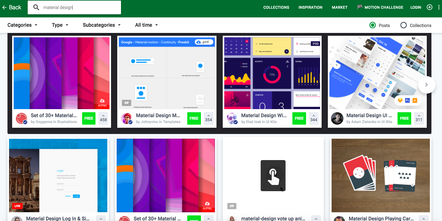 12 Best Material Design Website Examples To Draw Inspirations By Vincent Xia Medium