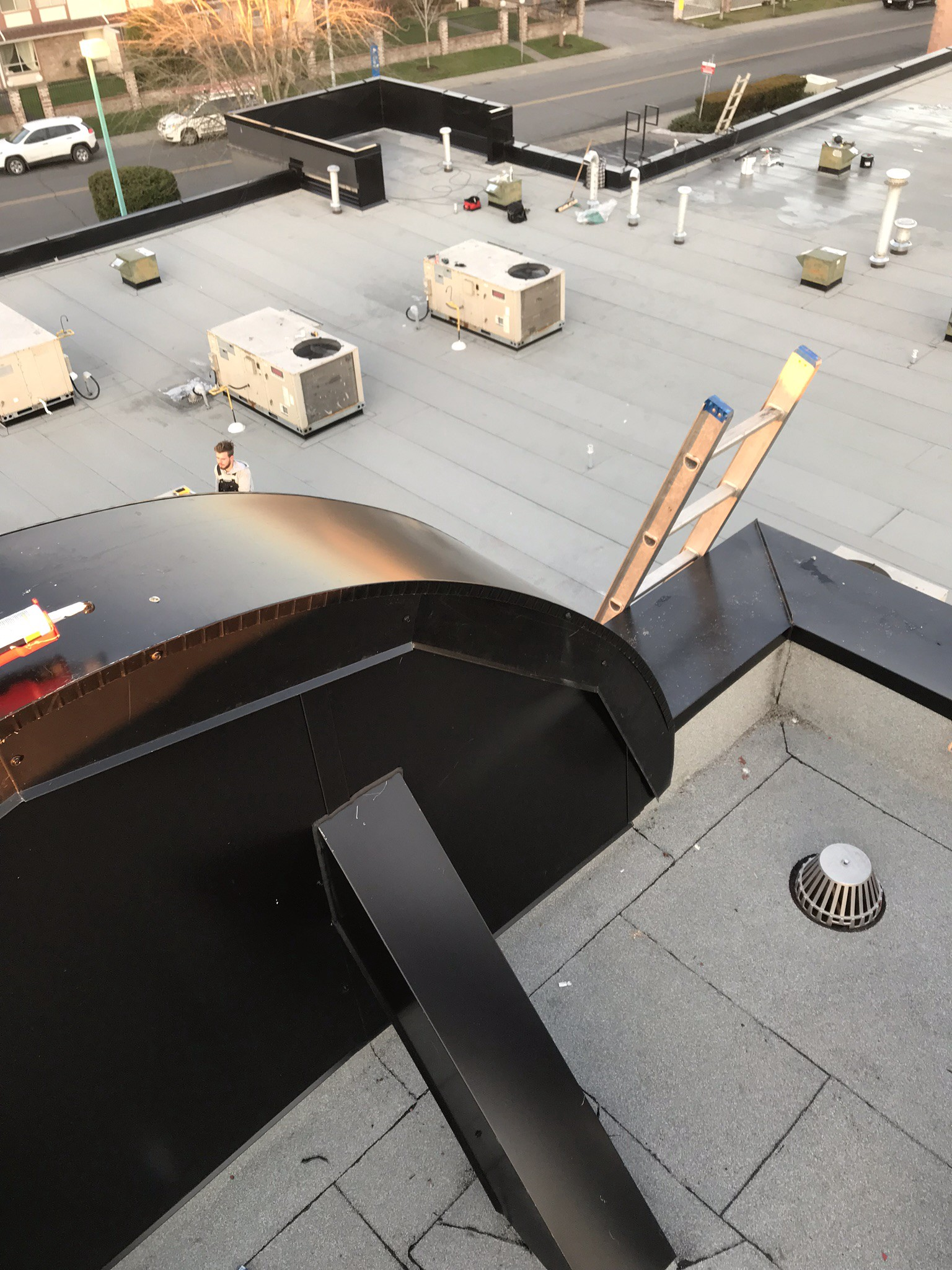 Benefits Of Commercial Torch On Roofing By Robinson Roofing Sheet Metal Medium