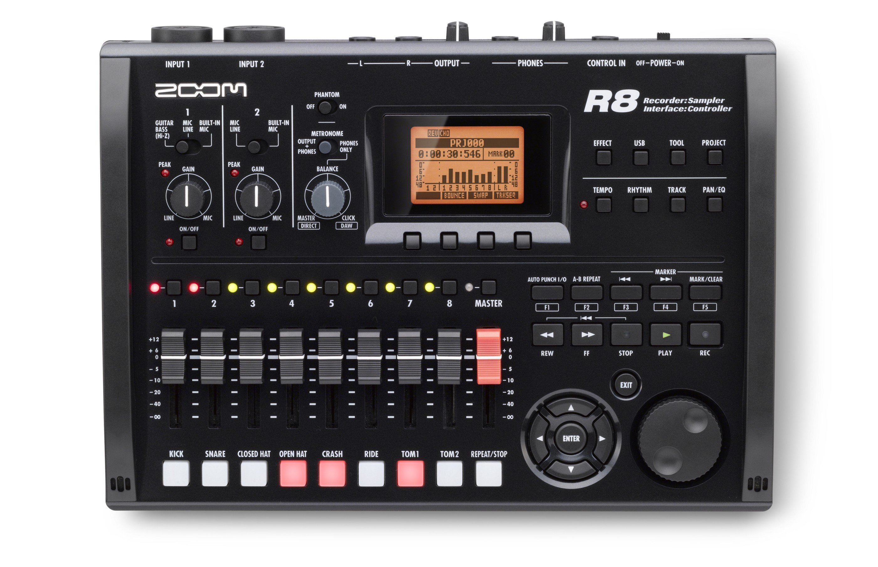 Review: Zoom R8 Recorder/Sampler/Interface Controller