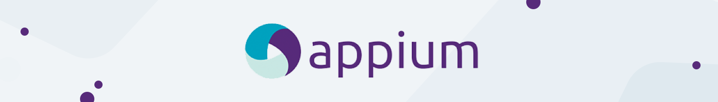 Appium automation testing logo