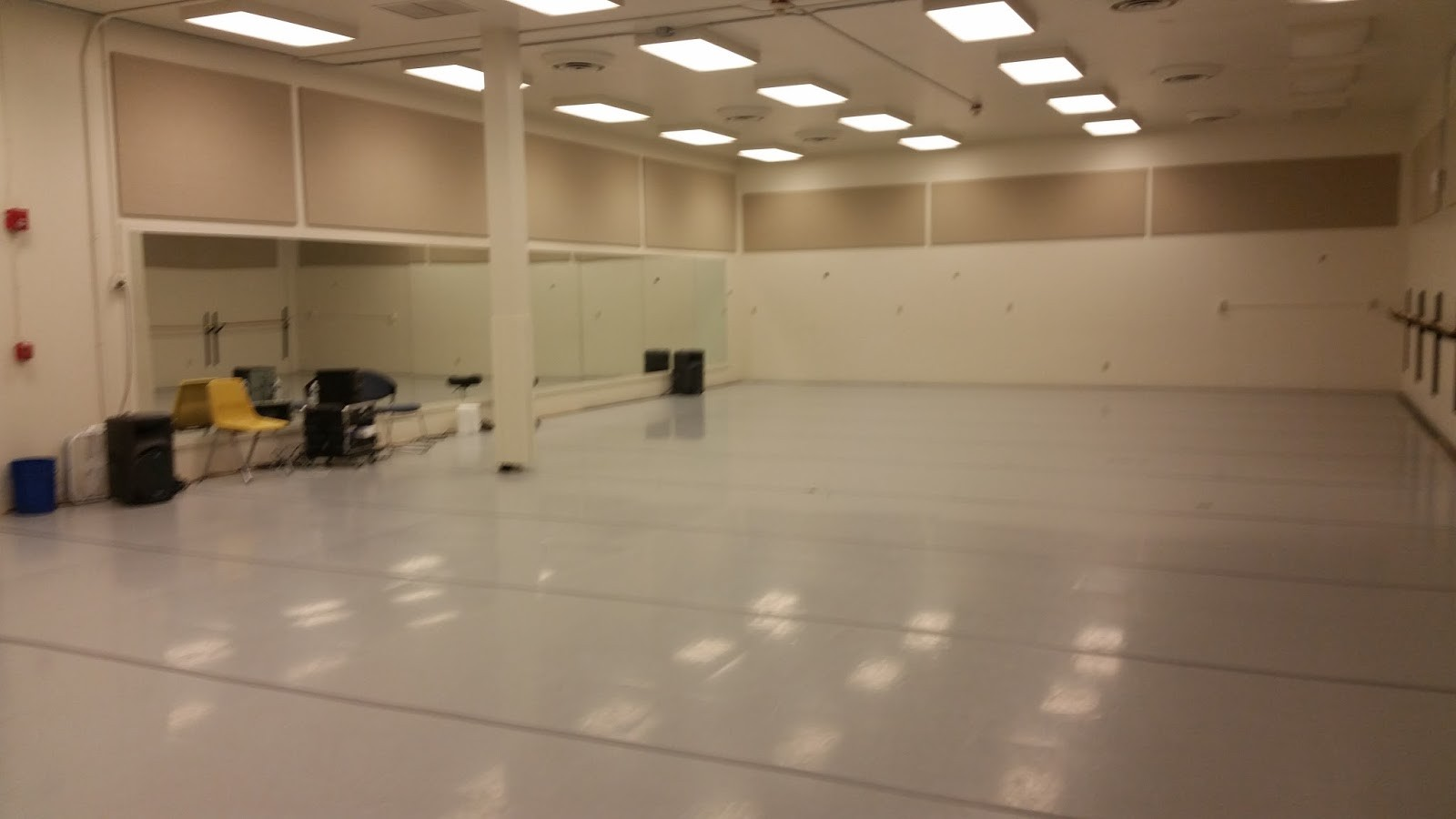 Dancing Through Space A Dance Studio Is Like A Classroom If By Bryce Pettit Estell Medium