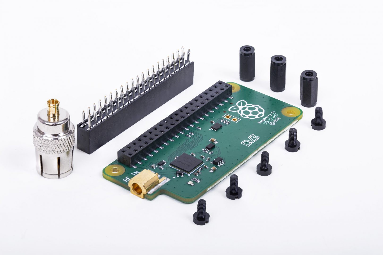 Introducing the Raspberry Pi TV HAT - Hackster Blog