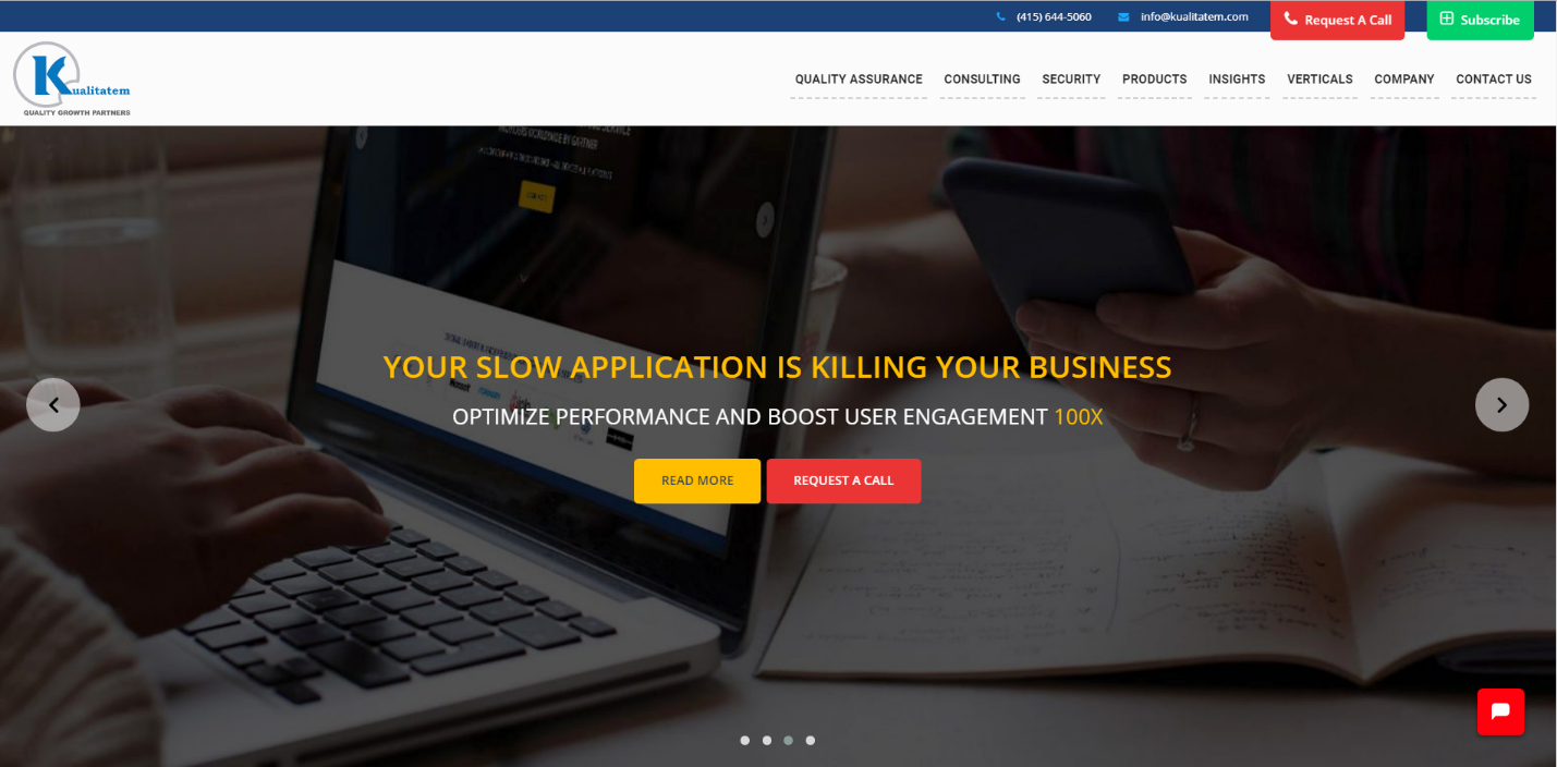 Kualitatem—Independent Software and Security Testing Company