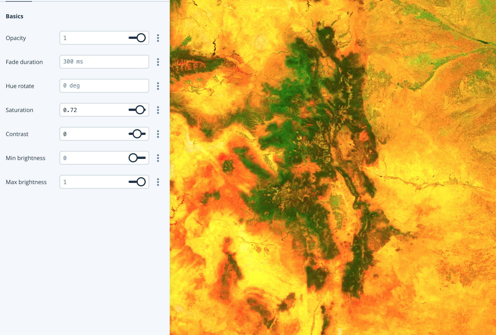 Assessing imagery at scale - Points of interest