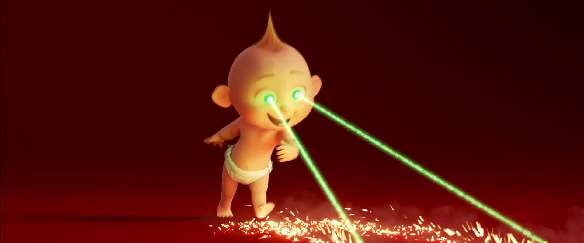 The Incredibles 2 Wait A Second Jack Jack Has Powers By C J Hawkings Wonderpopculture Medium