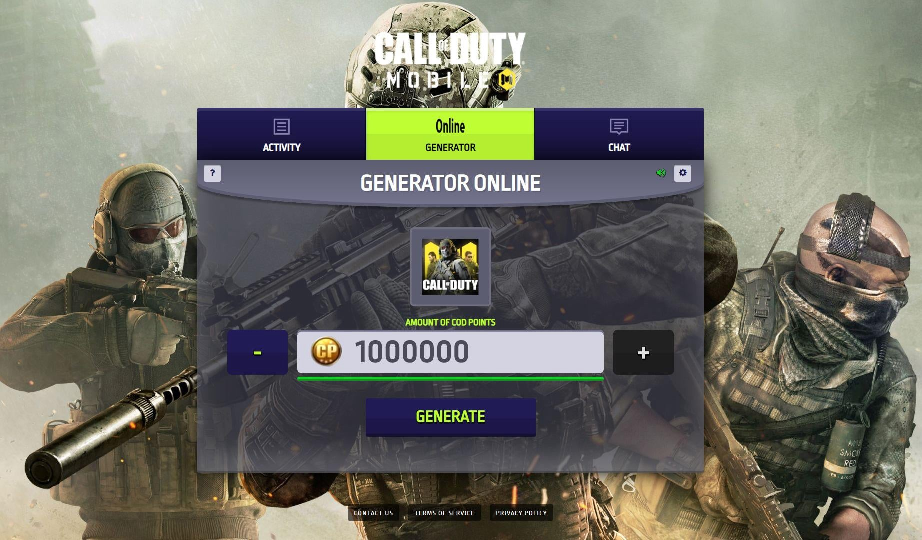 call of duty mobile coins