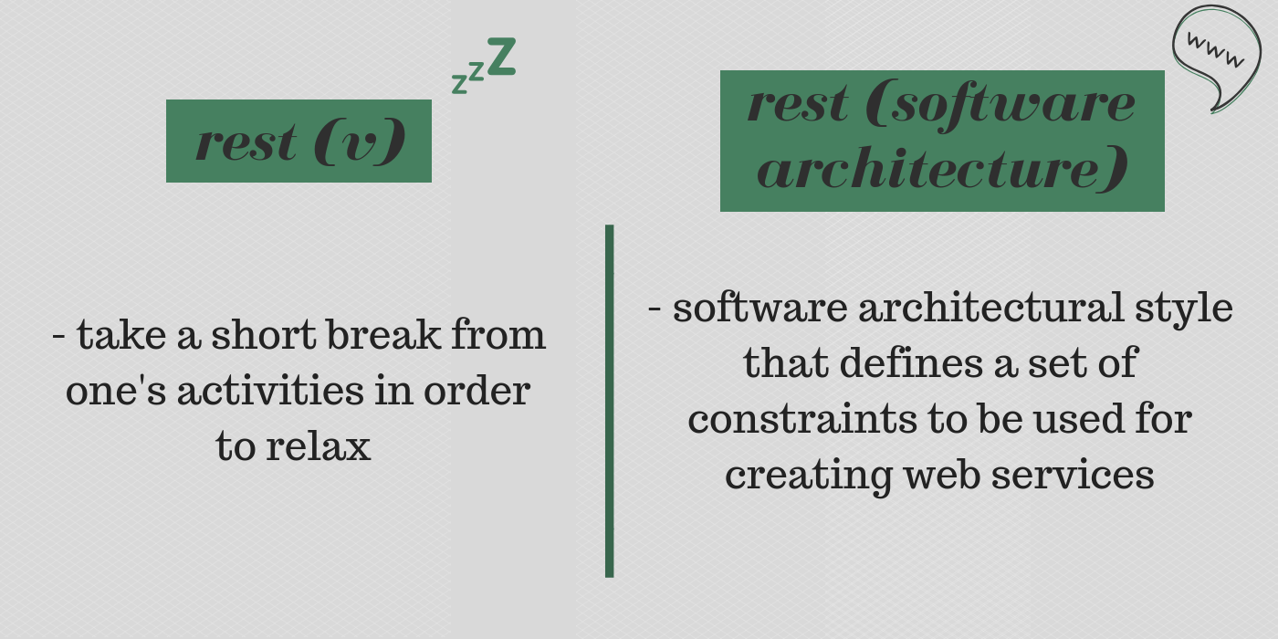 Rest From Verb To Architecture High Level Introduction For The Rest By Adrian Brad Medium