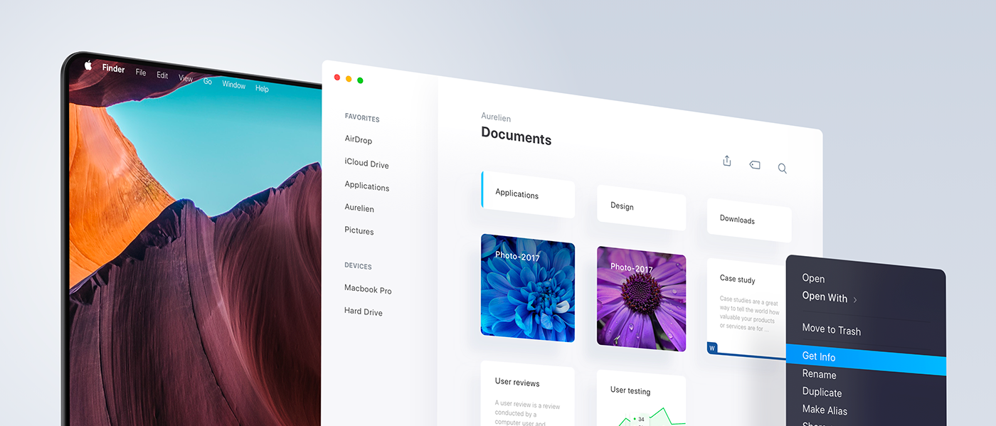 Macos 2020 Redesign Concept Ux Case By Lenine On Coletivo Ux