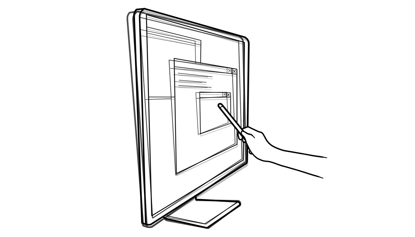 If the TV/monitor is not firmly mounted, it might move once you start tapping, throwing off the calibration.