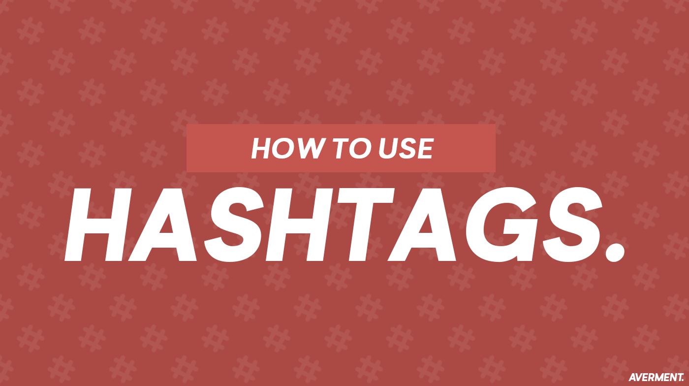 How to use Hashtags — how does writing hashtags in camel case make them more accessible?