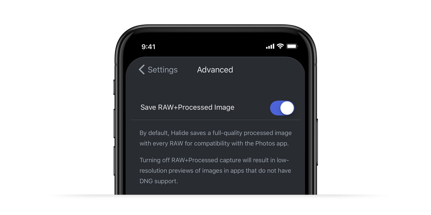 The Power of RAW on iPhone, Part 2: Editing RAW - Halide