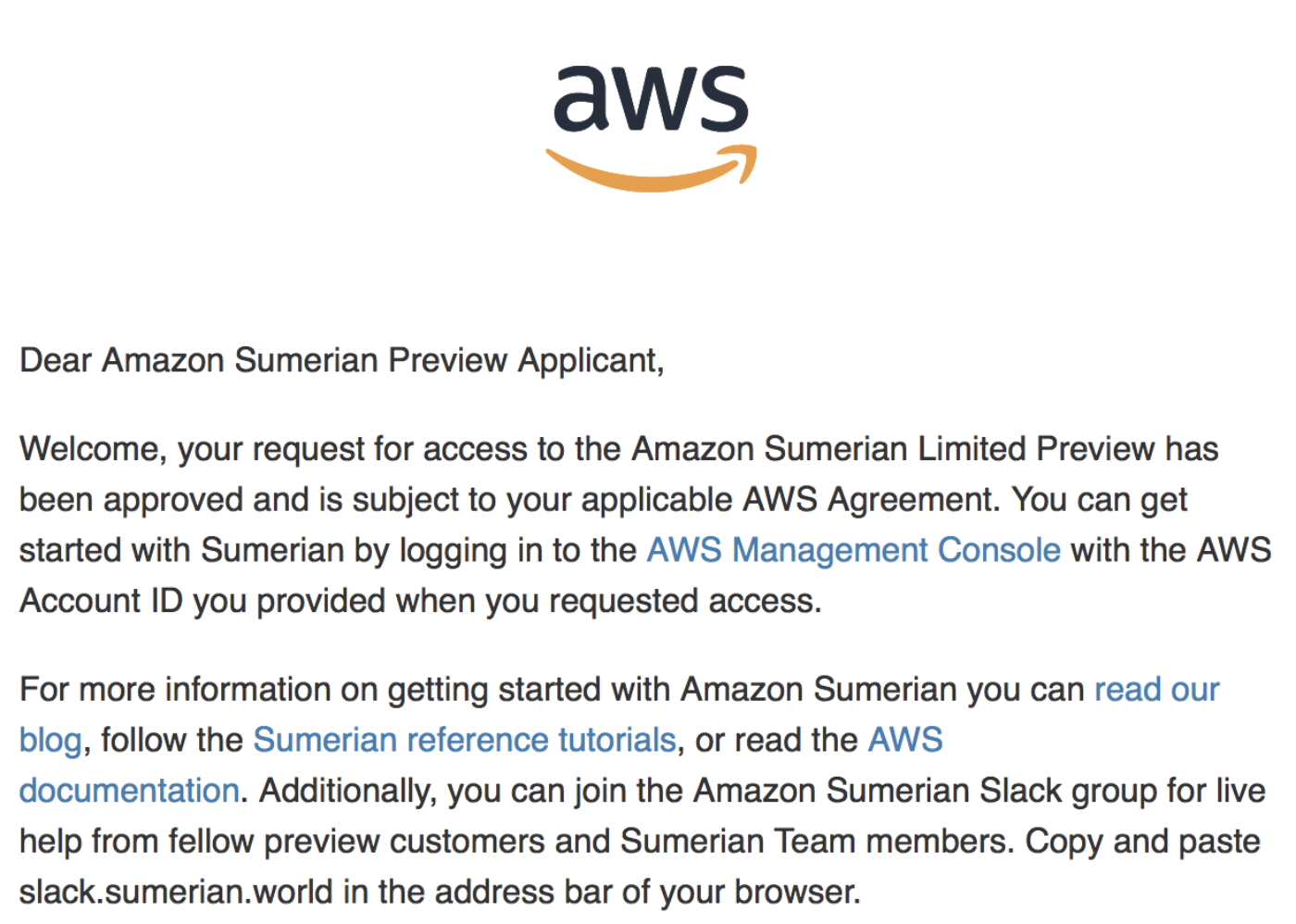 The world fastest review of AWS's Sumerian - AR Ojisan - Medium