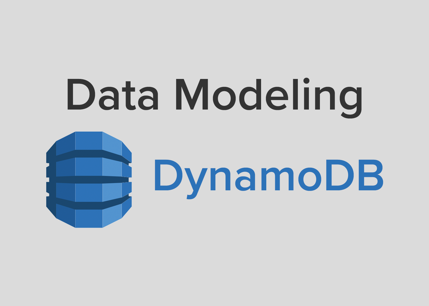 Data Modeling in AWS DynamoDB - The Startup - Medium