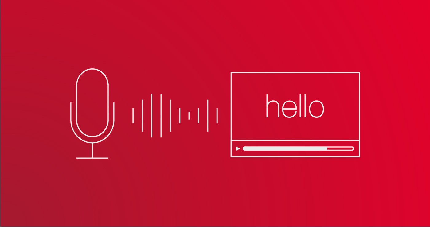 Live Adaptive Video Speech Recognition - Well Red - Medium