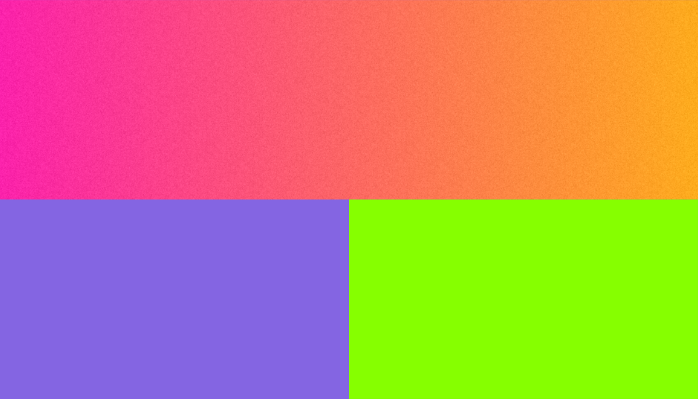 Color palettes for creating psychedelic designs