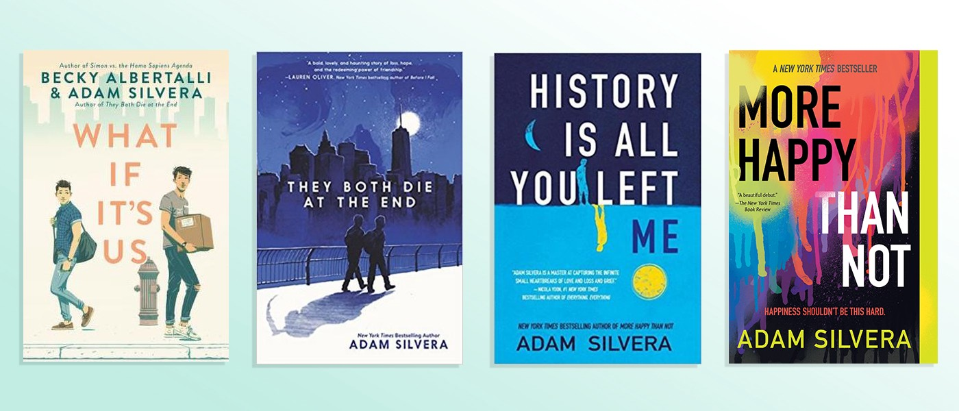 Adam Silvera's Bookshelf. Adam Silvera was born and raised in the… | by  Strand Book Store | Medium
