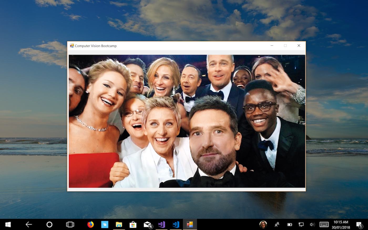 Insert Yourself Into Any Picture With C#, Dlib, and OpenCV