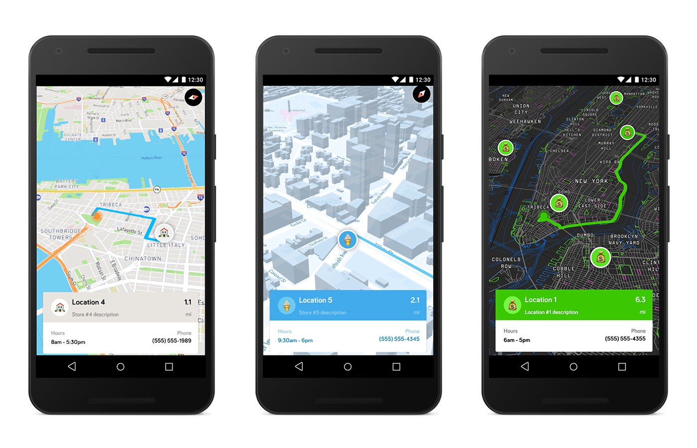 Store Locator Kit for Android - Points of interest