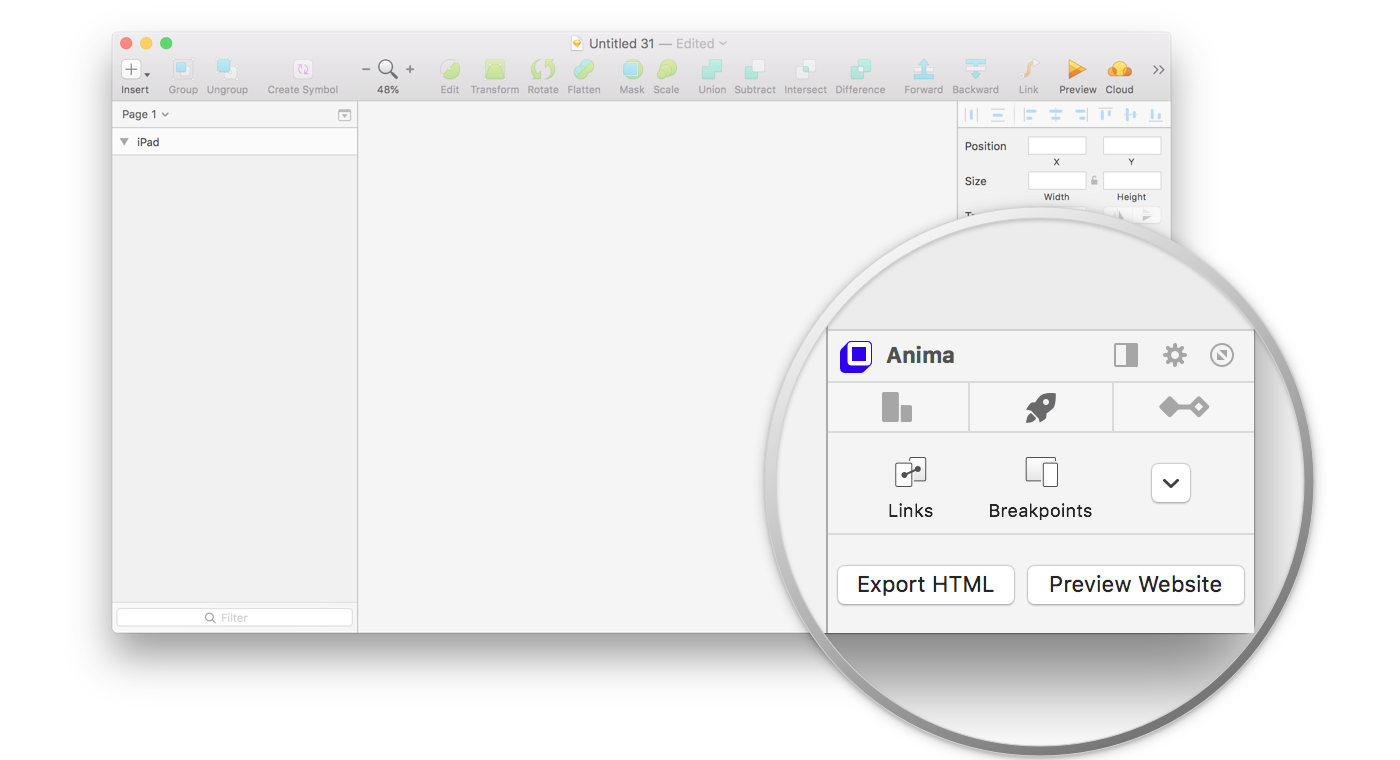 Anima Toolkit For Sketch Launch A Website Design Responsively By Anima App Design Sketch Medium