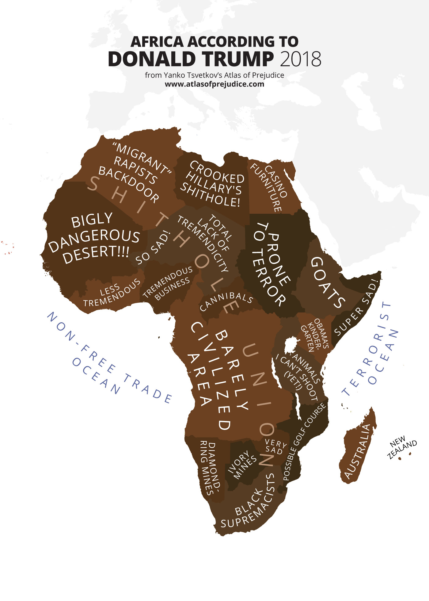 Africa According to Donald Trump - Atlas of Prejudice on nationalism of africa, community of africa, subcultures of africa, perceptions of africa, identity of africa, labels of africa, nature of africa, love of africa, society of africa, resistance of africa, caste system of africa, women of africa, books of africa, misconceptions of africa, education of africa, family of africa, stereotypes about men, racism of africa, babies of africa,