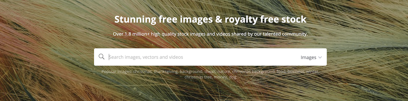 Pixabay.com: over 1.8 million free high-quality images and videos oriented towards business and marketing