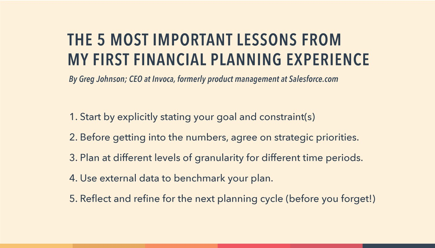 5 Tips for SaaS Financial Planning from a First-Time CEO