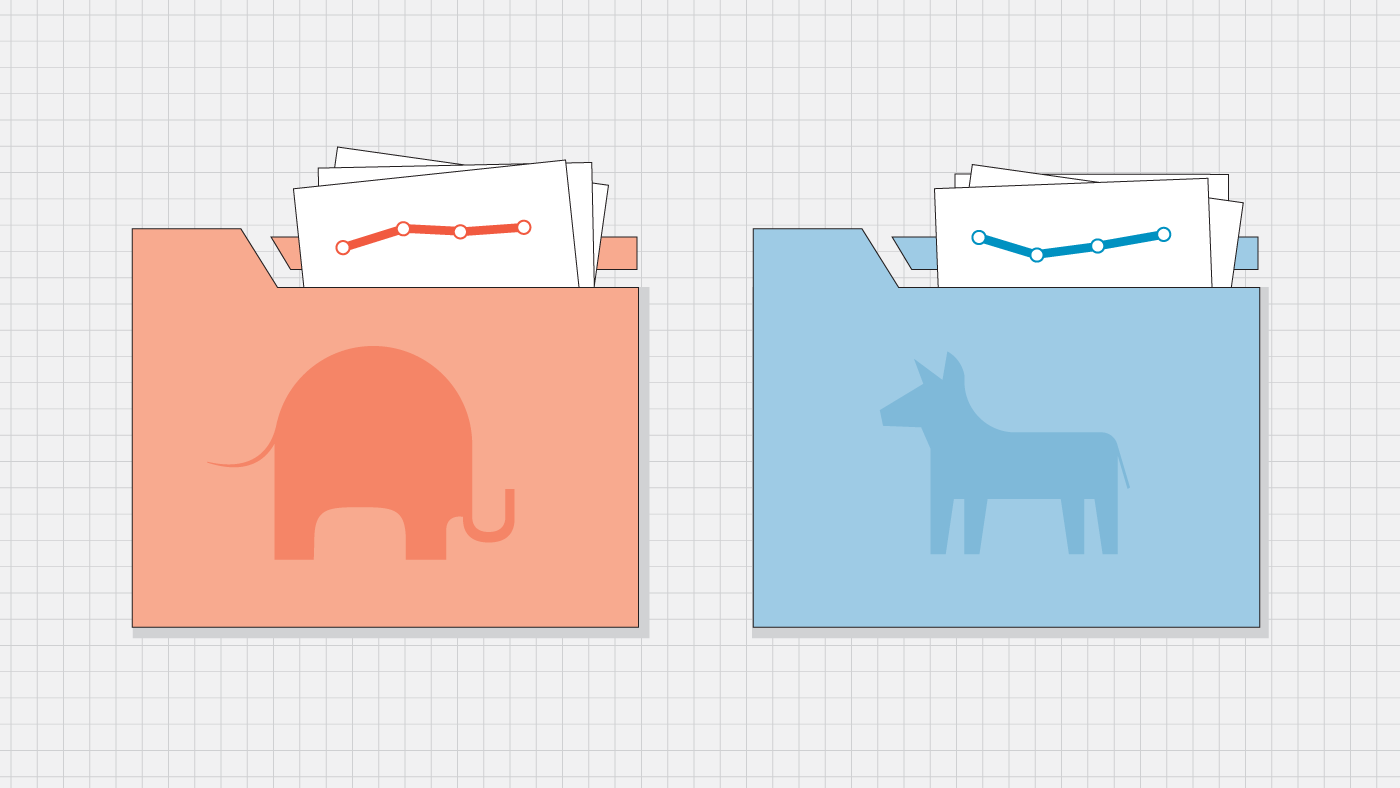 What voter files can tell us about trends in party registration
