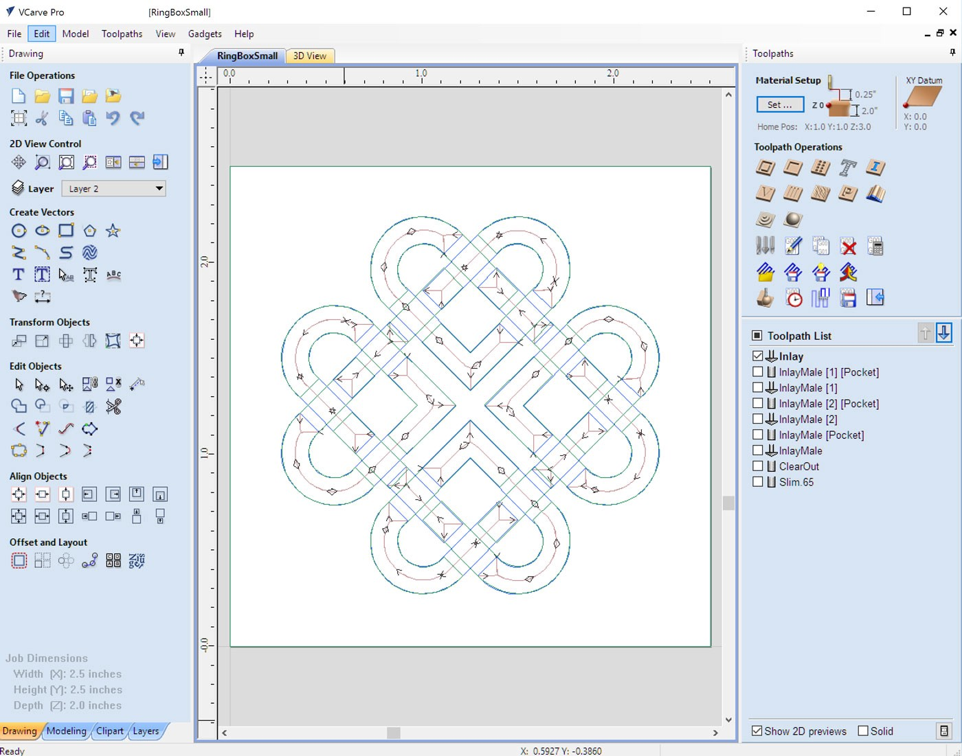 How to Create an Inlay with a CNC Router - Mark Zachmann