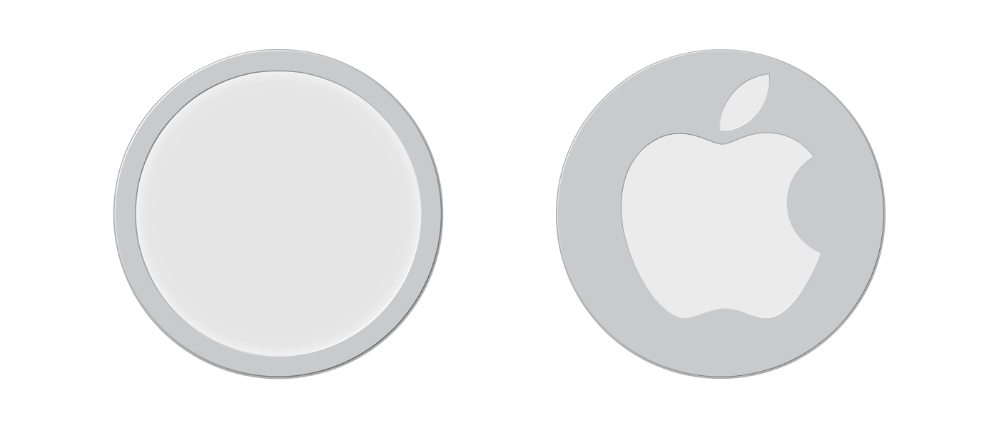 Front and back of a MagSafe Charger that provides improved grip on inclined surfaces.