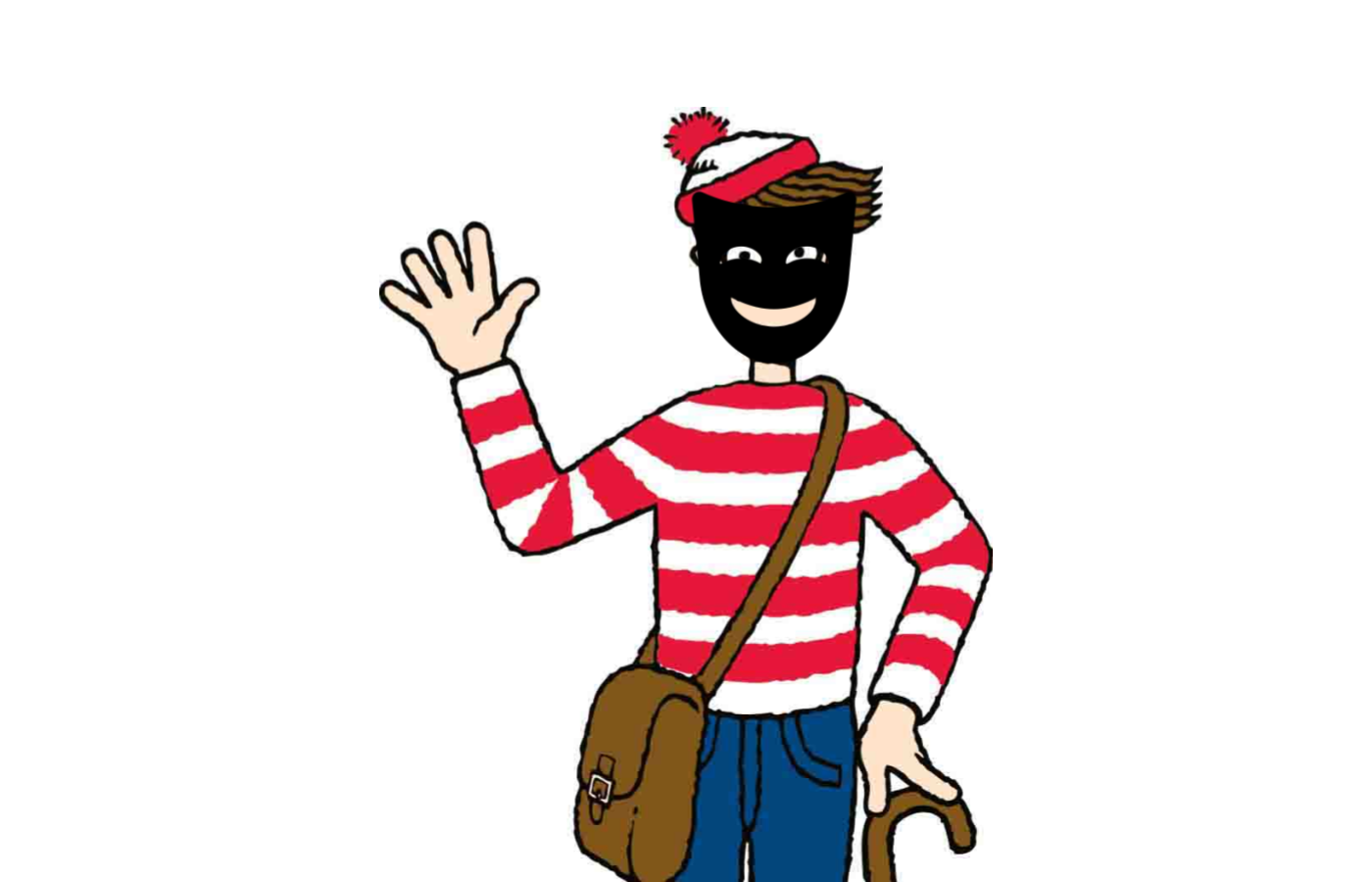Data masking is like masking the face of Wally in a Where is Wally album. You will still find him in so many other ways.