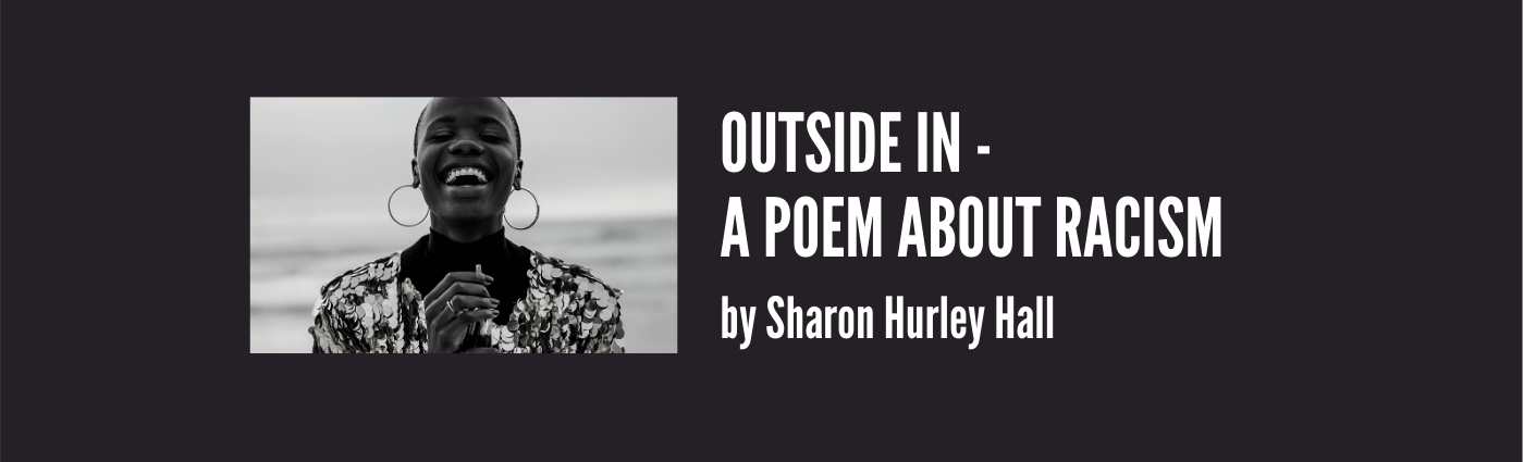 Outside In — A Poem About Racism — cover image with Black woman