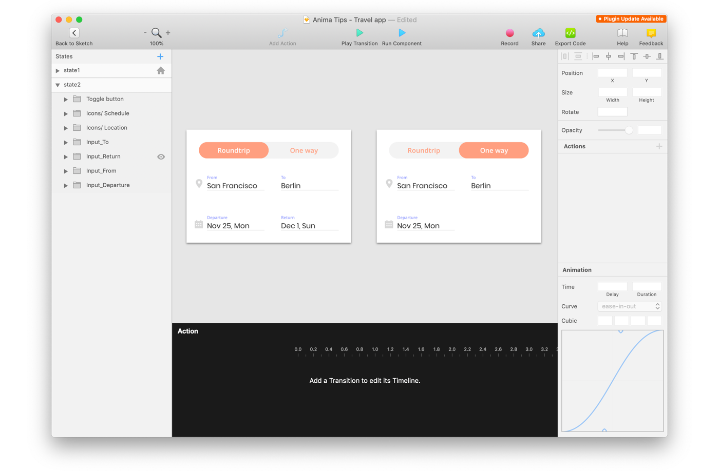 How To Create Interactions In Sketch Prototypes By Anima App Design Sketch Medium