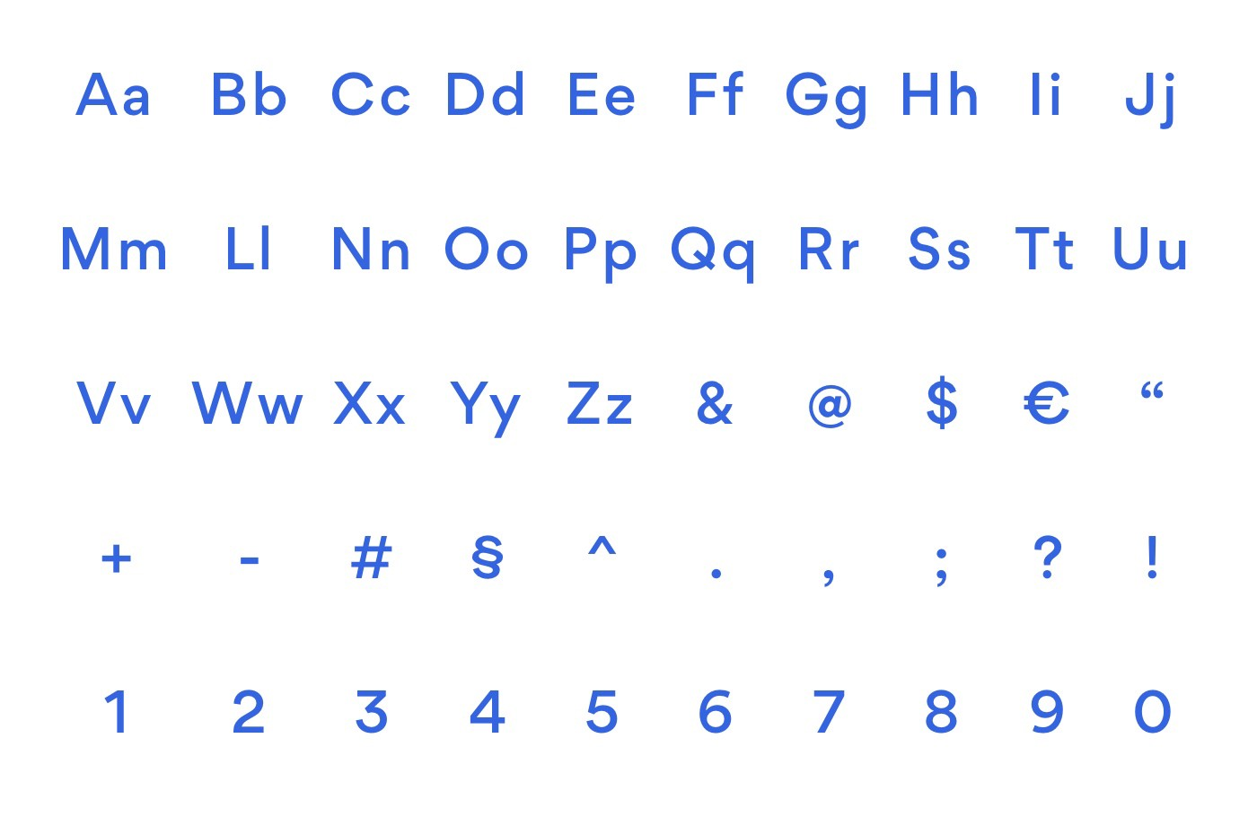 Top 5 geometric fonts for 2019 - UX Collective