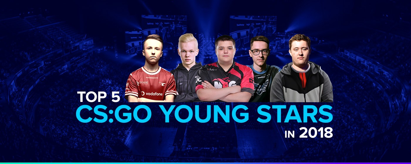 TOP 5 Young Stars of CS:GO - DreamTeam Media - Medium