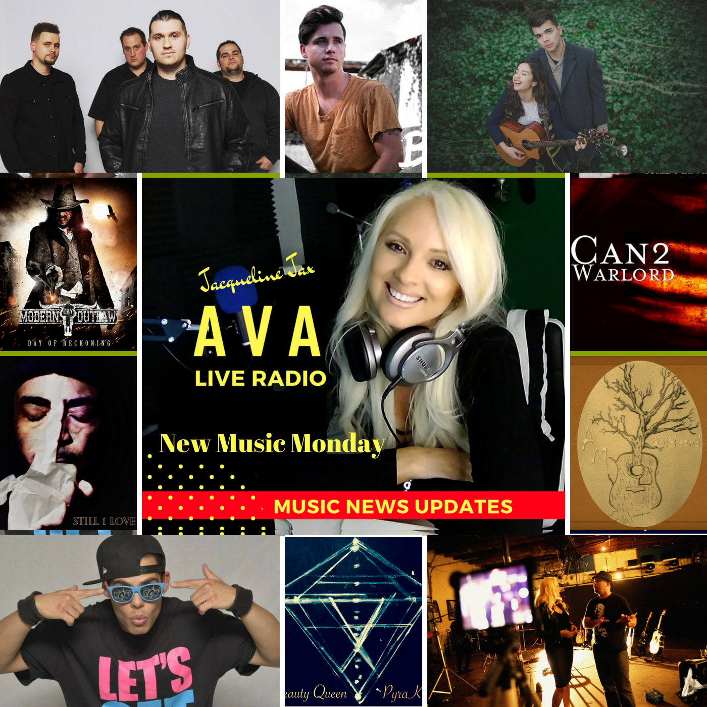 New Music Monday & Music Business News - AVA Live Radio - Medium