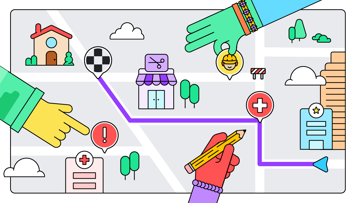 The Waze Map is constantly evolving thanks to the Community of more than 50,000 volunteers around the world.