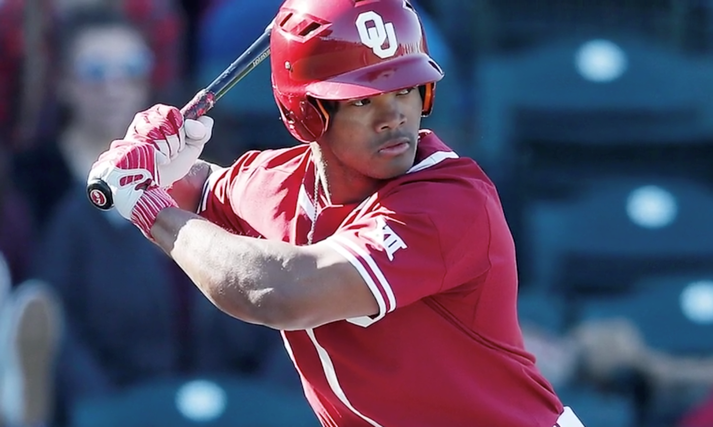 reputable site 9fcbb 161ae A's Select OF Kyler Murray with 9th Overall Selection of ...