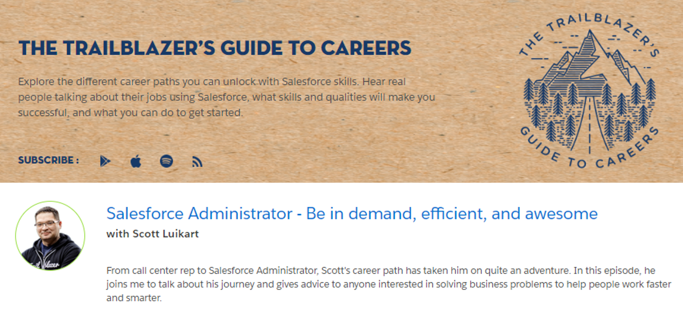 Be in demand, efficient, and awesome  Be a Salesforce
