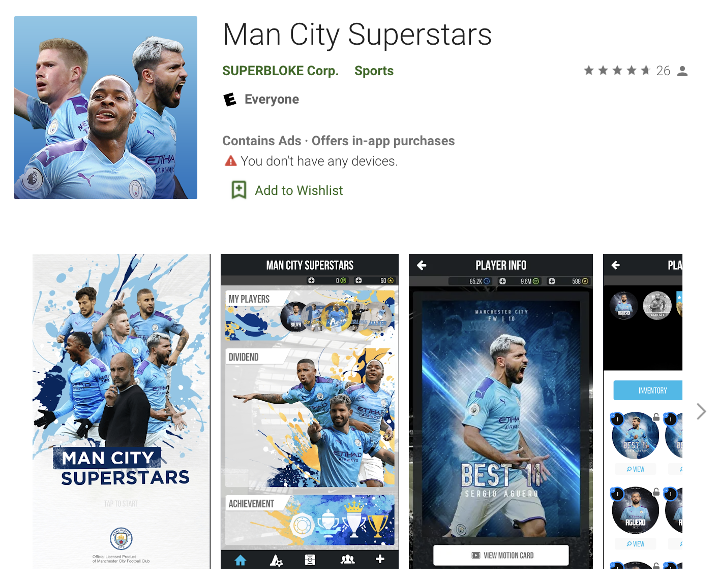 English Football Clubs Tokenization Applications: Man City Superstars
