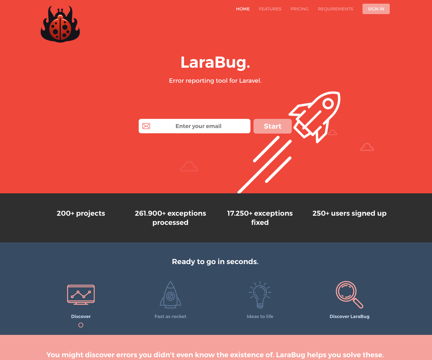 LaraBug — A Laravel Exception Tool Helper - Dennis Smink