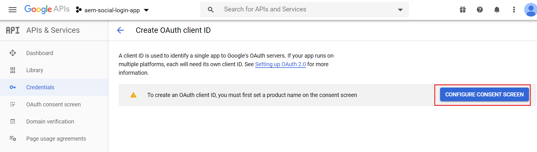 aem-social-login-with-google