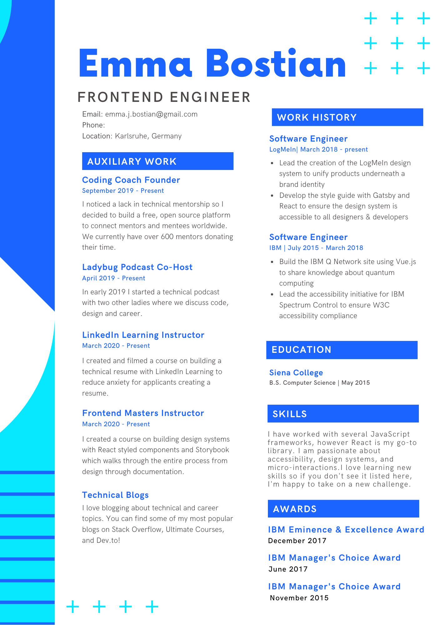 how to write a standout technical resume emma